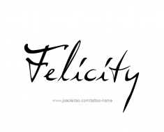 tattoo-design-name-felicity-01
