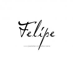 tattoo-design-name-felipe-01
