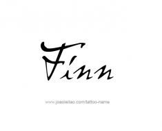 tattoo-design-name-finn-01