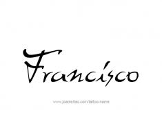 tattoo-design-name-francisco-01