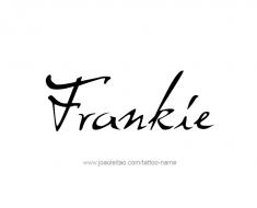 tattoo-design-name-frankie-01