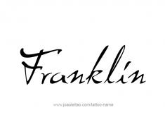 tattoo-design-name-franklin-01