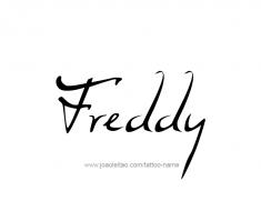 tattoo-design-name-freddy-01