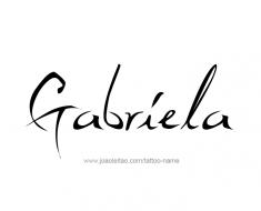 tattoo-design-name-gabriela-01