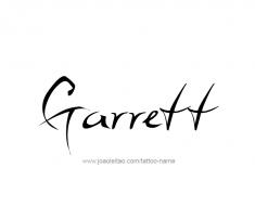 tattoo-design-name-garrett-01