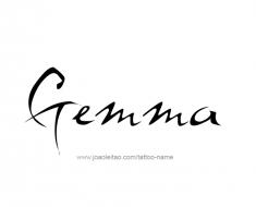tattoo-design-name-gemma-01