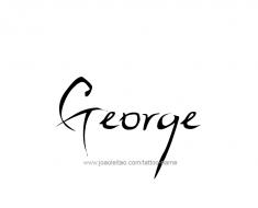 tattoo-design-name-george-01