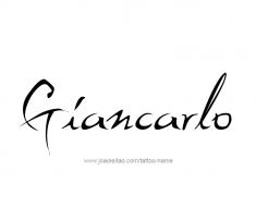 tattoo-design-name-giancarlo-01