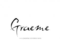 tattoo-design-name-graeme-01