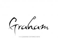 tattoo-design-name-graham-01