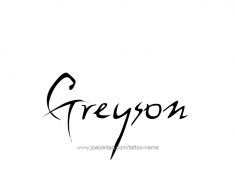 tattoo-design-name-greyson-01