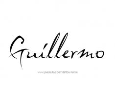 tattoo-design-name-guillermo-01