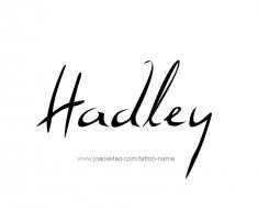 tattoo-design-name-hadley-01