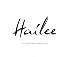 tattoo-design-name-hailee-01