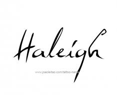 tattoo-design-name-haleigh-01