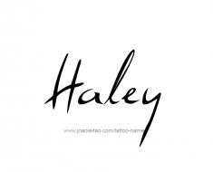 tattoo-design-name-haley-01