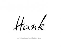 tattoo-design-name-hank-01