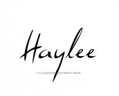 tattoo-design-name-haylee-01