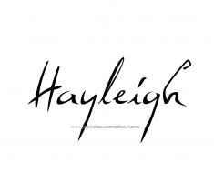 tattoo-design-name-hayleigh-01