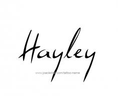 tattoo-design-name-hayley-01