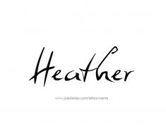 tattoo-design-name-heather-01