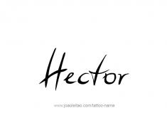 tattoo-design-name-hector-01