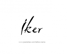 tattoo-design-name-iker-01