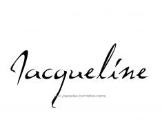 tattoo-design-name-jacqueline-01