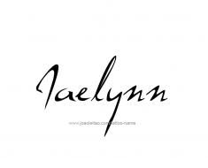 tattoo-design-name-jaelynn-01
