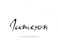 tattoo-design-name-jameson-01