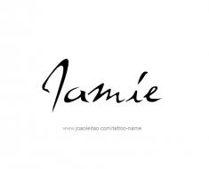 tattoo-design-name-jamie-01