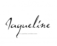 tattoo-design-name-jaqueline-01