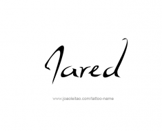 tattoo-design-name-jared-01