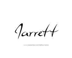 tattoo-design-name-jarrett-01