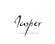 tattoo-design-name-jasper-01