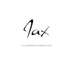 tattoo-design-name-jax-01
