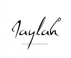 tattoo-design-name-jaylah-01