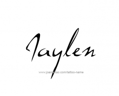 tattoo-design-name-jaylen-01