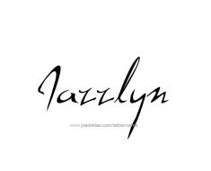 tattoo-design-name-jazzlyn-01