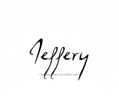 tattoo-design-name-jeffery-01