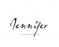 tattoo-design-name-jennifer-01