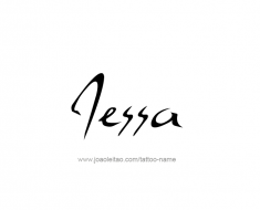 tattoo-design-name-jessa-01