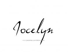 tattoo-design-name-jocelyn-01
