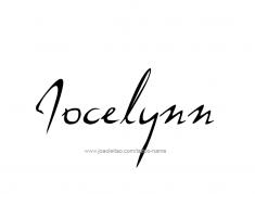tattoo-design-name-jocelynn-01