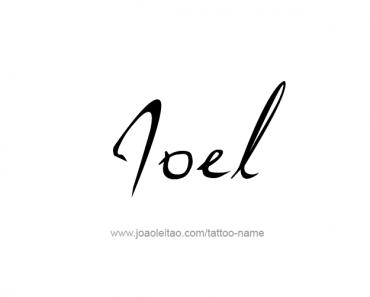 joel archives tattoos with names. Black Bedroom Furniture Sets. Home Design Ideas