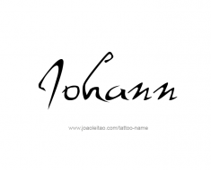 tattoo-design-name-johann-01