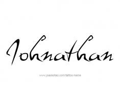 tattoo-design-name-johnathan-01