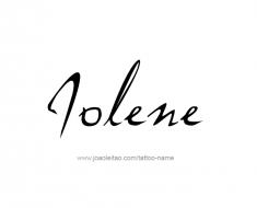 tattoo-design-name-jolene-01