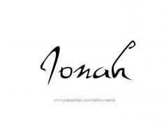 tattoo-design-name-jonah-01