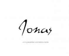tattoo-design-name-jonas-01